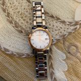 Burberry Jewelry | Burberry Two Tone Rose Gold And Silver Watch | Color: Gold/Silver | Size: Os