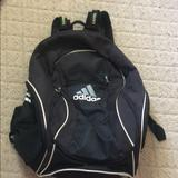 Adidas Other | Adidas Soccer Bag | Color: Black/White | Size: Soccer Ball Equipment Bag