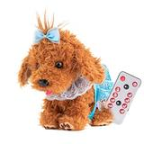 Realistic Teddy Dog Luckys 30cm Interactive Plush, Electronic Toys Gift