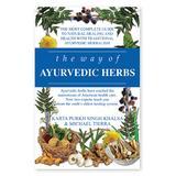 National Book Network Wellness Books - The Way of Ayurvedic Herbs Paperback