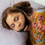 CPAP Chin Strap by North American Health+Wellness in Black
