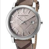 Burberry Accessories | Burberry Womens Bu9029 The City Leather Watch | Color: Brown/Tan | Size: Os