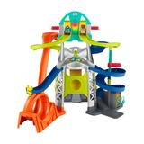 Fisher-Price Toy Cars and Trucks - Launch & Loop Raceway