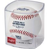 2020 MLB World Series Collector's Baseball