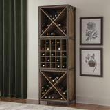 """Thayer Wine Tower - Two """"X"""" Boxes and One Grid Box - Ballard Designs"""