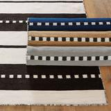 "Sorento Performance Rug Black 8'3"" x 11'6"" - Ballard Designs"