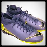 Nike Shoes   Nike Mercurial Youth Soccer Shoes ~ 4.5   Color: Gold/Gray   Size: 4.5b