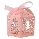 ANMINY 100 Pcs Candy Box Wedding Favor Sweet Gift Bags Paper in Orange | Wayfair 06FTB0015CPK