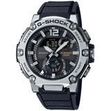 Analog-digital G-steel Black Resin Strap Watch 43mm - Black - G-Shock Watches
