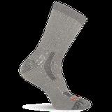 Merrell Men's Cushioned Heavyweight Hike Crew Sock, Size: L/XL, Black