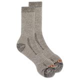 Merrell Men's Cushioned Heavyweight Hike Crew Sock, Size: L/XL, Brown