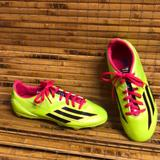 Adidas Makeup | Adidas Trx F10 Soccer Cleats Youth | Color: Black/Green | Size: 4y