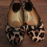 Coach Shoes   Coach Animal Print Fur Ballet Flats Sz 10   Color: Black/Brown   Size: 10