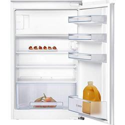 Bosch KIL18NSF0 Serie 2 Einbau-Kühlschrank mit Gefrierfach / F / 88 cm Nischenhöhe / 185 kWh/Jahr / 112 L Kühlteil / 17 L Gefrierteil / MultiBox / FreshSense