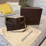 Louis Vuitton Bags | Authentic Louis Vuitton Handbag W Shoulder Strap | Color: Brown/Cream | Size: Os