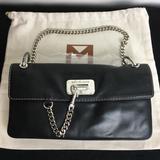 Michael Kors Bags | Michael Kors Black Leather Shoulder Bag Wdust Bag | Color: Black | Size: 10.5(L) X 6(H) X 2(D)