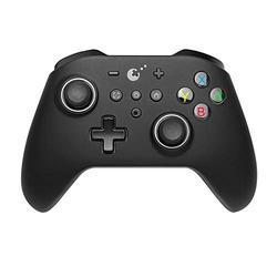 GuliKit Kingkong Controller für Nintendo Switch, Wireless Switch Pro Controller mit Dual Shock und 6-Achsen Somatosensory Gamepad Zubehörsets für Nintendo Switch/Switch Lite/PC/Android - Schwarz