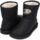 """Women's Cuce Anaheim Ducks Quarterback Quilted Boots"""