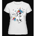 I Am A Unicorn - Shirtinator Frauen T-Shirt