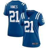 Women's Nike Nyheim Hines Royal Indianapolis Colts Game Jersey