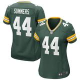 Women's Nike Ty Summers Green Bay Packers Game Jersey