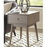 Signature Design by Ashley Furniture End Tables Antique - Gray Paulrich USB Side Table