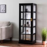 Burland Tall Curio Cabinet - Southern Enterprises CM1103924