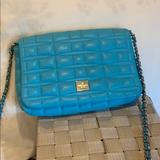 Kate Spade Bags   Blue Quilted Kate Spade Purse With Chain Strap   Color: Blue   Size: Os