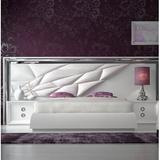 Hispania Home London Bedor92 Bedroom Set 3 Pieces Upholstered in Black, Size King   Wayfair BEDOR92-SET3KHG