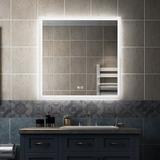 "Brayden Studio® Theilen Lighted Bathroom/Vanity Mirror, Size 30"" x 36"" | Wayfair 88C87F8A3CFF40BF9008851AC218A8D2"