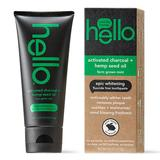 hello Activated Charcoal + Hemp Fluoride Free Toothpaste, Multicolor, 4 FL Oz