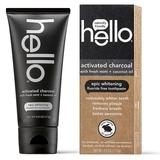 hello Activated Charcoal Whitening Fluoride Free Toothpaste, Multicolor, 4 FL Oz