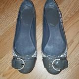 Coach Shoes   Coach Remmi Flats Animal Print Size 5.5   Color: Cream/Gray   Size: 5.5