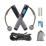 Jump Rope,Digital Weighted Handle Workout Jumping Rope with Calorie Counter,Adjustable Length Skipping Rope-Fitness Jumping Rope for Workout Indoor & Outdoor,Adjustable Exercise Speed Skipping Rope for Men,Women,Kids,Girl