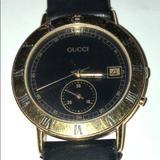 Gucci Accessories   Gucci 3800m Chronograph   Color: Gold   Size: 1.5