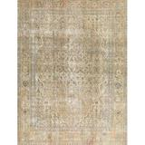 Bungalow Rose Brannigan Oriental Beige/Area Rug Polyester/Wool in Gray, Size 96.0 H x 96.0 W x 0.35 D in   Wayfair 5FC409408D3D4F5E9C83DF18CBCC7478