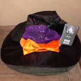 Disney Accessories | Disney Mickey Ears Witch Hat Nwt | Color: Black/Orange | Size: Os