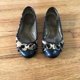 Coach Shoes   Coach Animal Print Ballerina Flats   Color: Black/Brown   Size: 8.5