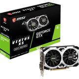 MSI Gaming GeForce GTX 1650 128-Bit HDMI/DP/DVI 4GB GDRR6 HDCP Support DirectX 12 VR Ready OC Graphics Card (GTX 1650 D6 Ventus XS OCV1)