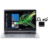 "2021 Newest Acer Aspire 5 15.6"" FHD 1080P Laptop Computer AMD Ryzen 3 3200U Dual Core Processor (Beat i5-7200U) 16GB RAM 512GB SSD Backlit Keyboard WiFi Bluetooth HDMI Windows 10 Pro w/ RE Accessories"