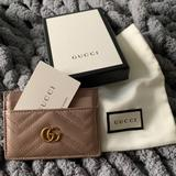 Gucci Bags | Authentic Gucci Card Holder | Color: Cream/Pink | Size: Os
