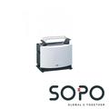Braun MultiToast HT 450 2Scheibe(n) Weiß Toaster