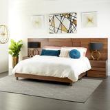 Cole & Grey Platform Bed in Brown, Size 11.75 H x 63.0 W x 81.0 D in   Wayfair 74224