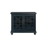 "Three Posts™ Miya 2 Door Accent Cabinet, Wood in Catalina Blue, Size Standard (24-42"")   Wayfair 5A1320E2C60F42F68F1FFB017516F4E1"