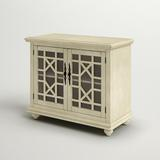"""Three Posts™ Miya 2 Door Accent Cabinet, Wood in Antique White, Size Standard (24-42"""")   Wayfair C93CC52273F246F9A0E065D1D99A8BAD"""