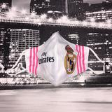 Adidas Accessories   Face Mask   Color: Pink/White   Size: One Size Fits Most