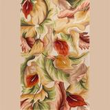"""Floral Delight Rectangle Rug, 3'3"""" x 5'3"""", Ivory"""