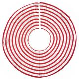 Coton Colors Tree Skirts in Red/White, Size 60.0 W in   Wayfair STRIPE-TRSKT-RD