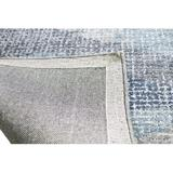 Sand & Stable™ Marino Abstract Hand-Tufted Blue/Gray/Ivory Area Rug Viscose/Wool in Blue/Gray/White, Size 96.0 H x 30.0 W x 0.5 D in   Wayfair