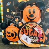 Disney Accessories | Disney Parks Jack O Lantern Mickey Headband | Color: Orange | Size: Os